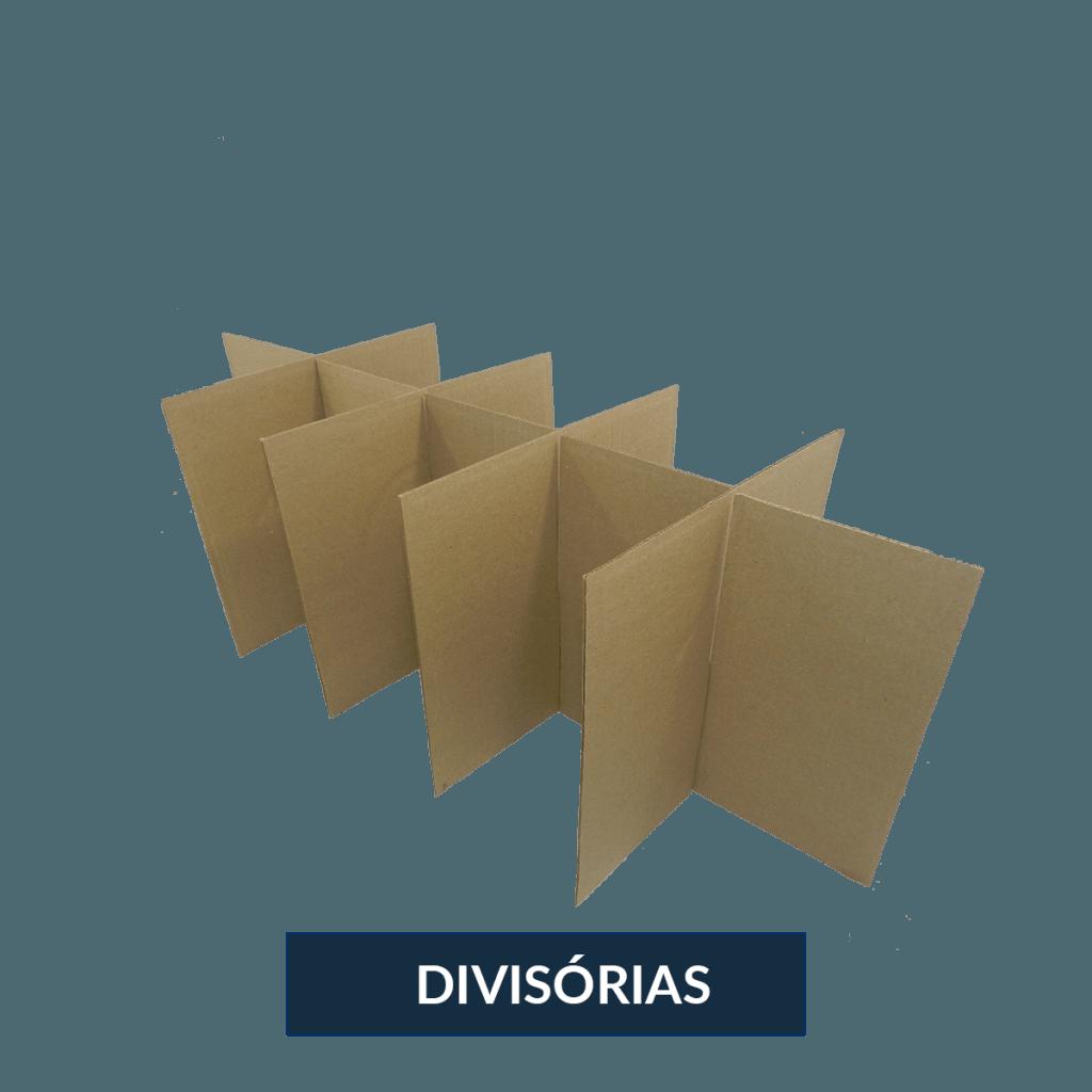 DIVISÓRIAS DE PAPELÃO